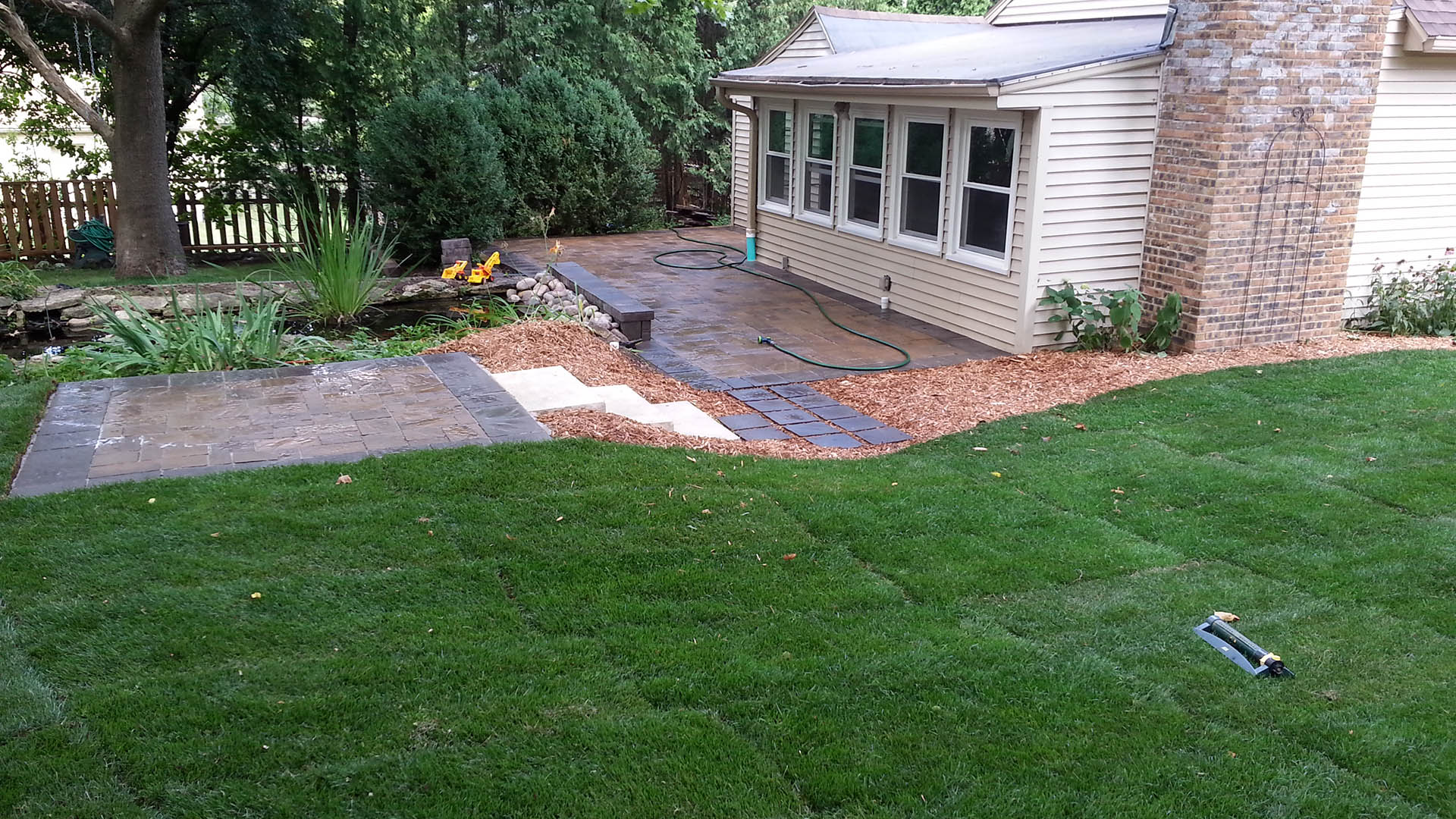 JL Property Services LLC Landscaping, Snow Plowing and Concrete Edging slide 1